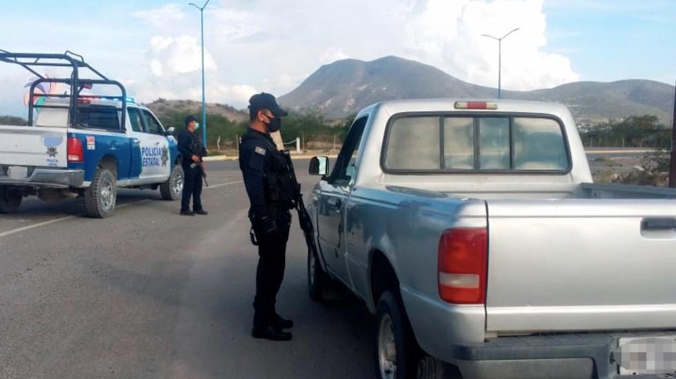 Refuerzan seguridad en la carretera Monterrey-Nuevo Laredo, una de las más peligrosas del país - Refuerzan seguridad en la carretera Monterrey-Nuevo Laredo, una de las más peligrosas del país. Foto de Seguridad Tamaulipas