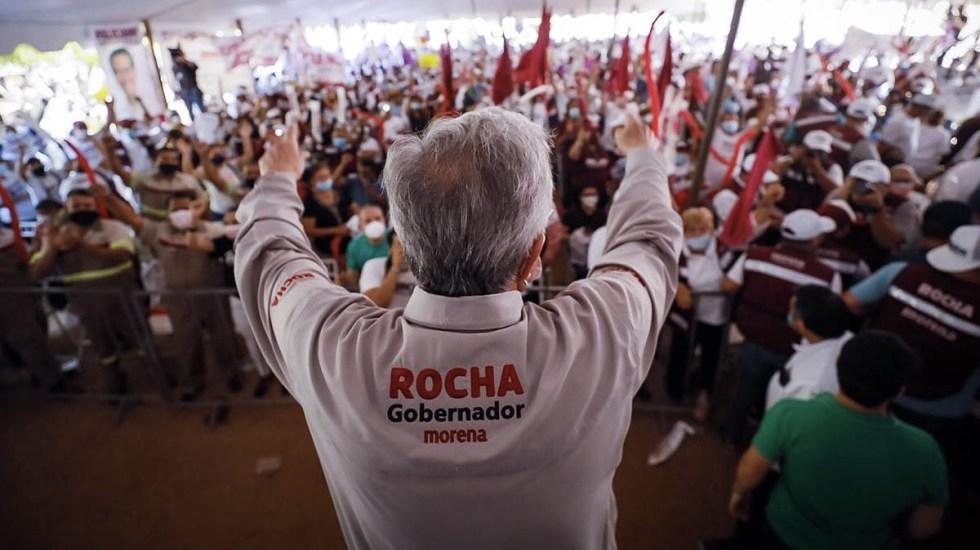 Ventaja de Rubén Rocha Moya en Sinaloa - Rubén Rocha Moya