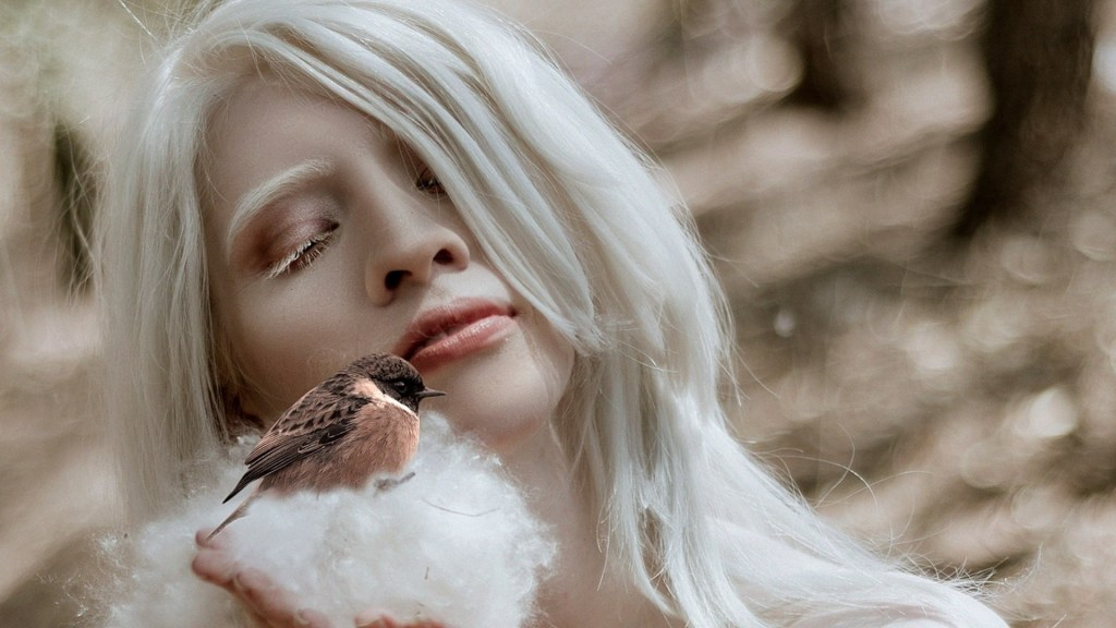 Ruby Vizcarra, la modelo mexicana que aprendió a abrazar su albinismo - Fotografía de archivo personal, sin fecha específica, cedida por la modelo albina Ruby Vizcarra durante una de sus sesiones de fotos, en México. Foto de EFE/ Ruby Vizcarra