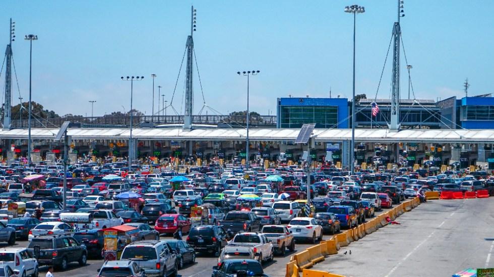 Reapertura de la frontera entre México y EE.UU. todavía sin fecha definida, reconoce SRE - San Ysidro garita Tijuana Baja California