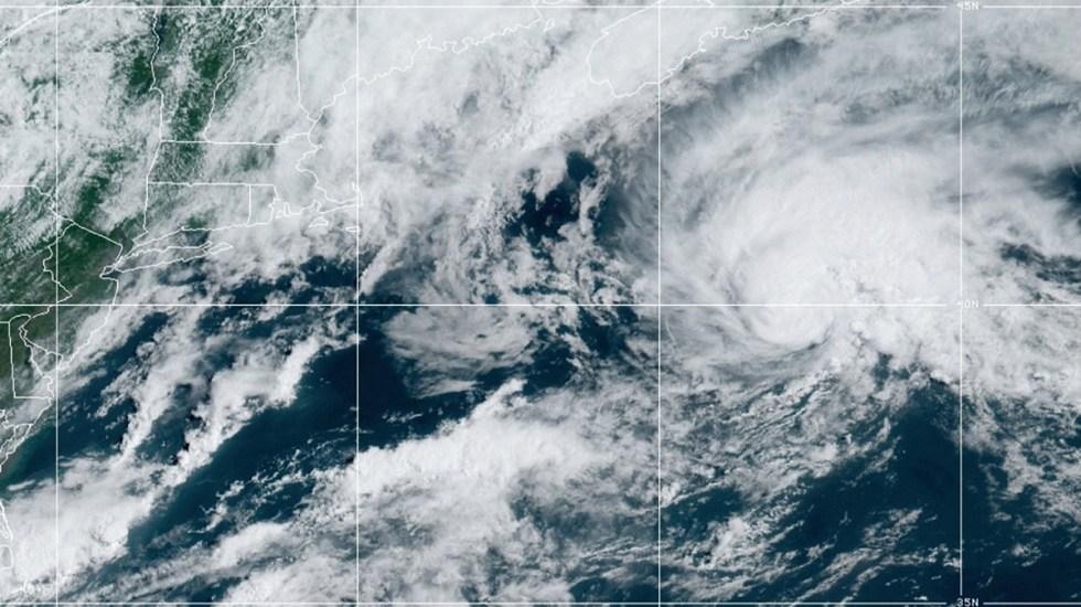 Se forma Bill, la segunda tormenta tropical del Atlántico - Bill. Foto de GOES / NOAA