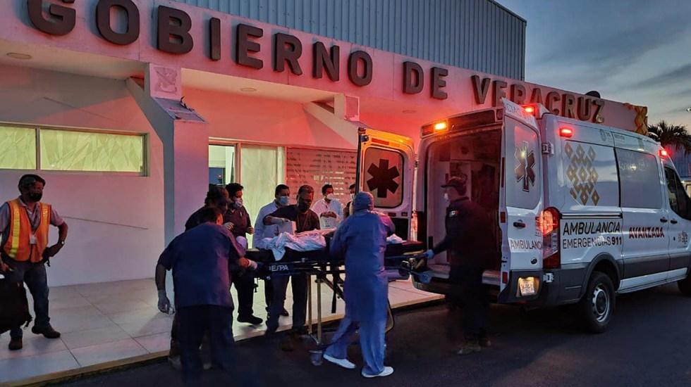 Muere niña de cinco años tras comer pan envenenado en Veracruz - Traslado de Jacobo, niño intoxicado con pan envenenado
