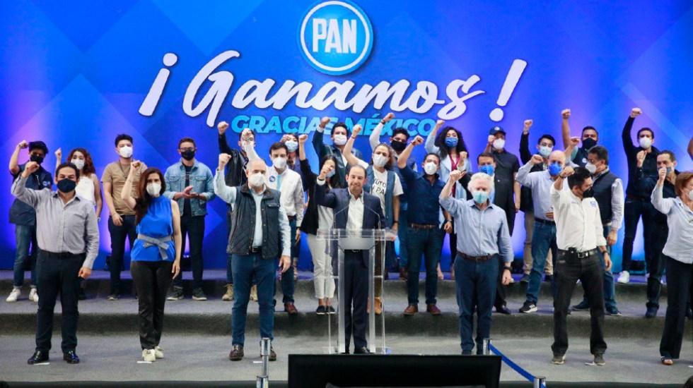 Alcaldes electos de la oposición crean alianza en Ciudad de México - Union alcaldes CDMX va por México