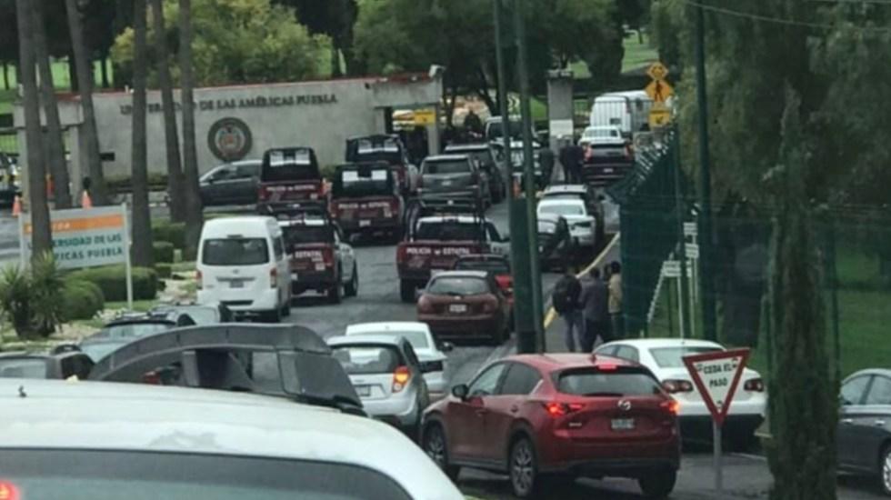Universidad de las Américas Puebla, tomada por la Policía Estatal - Universidad de las Américas Cholula Puebla
