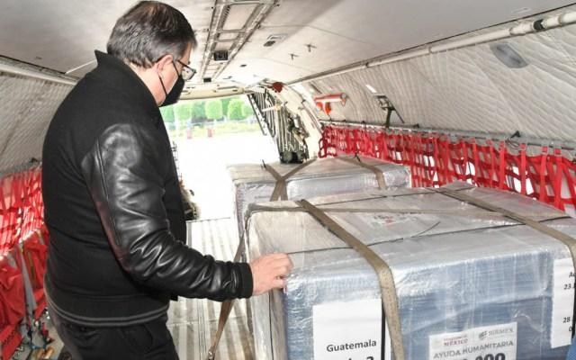 México dona 400 mil 800 vacunas a Guatemala, Honduras y El Salvador - Vacunas Ebrard Guatemala SRE donación