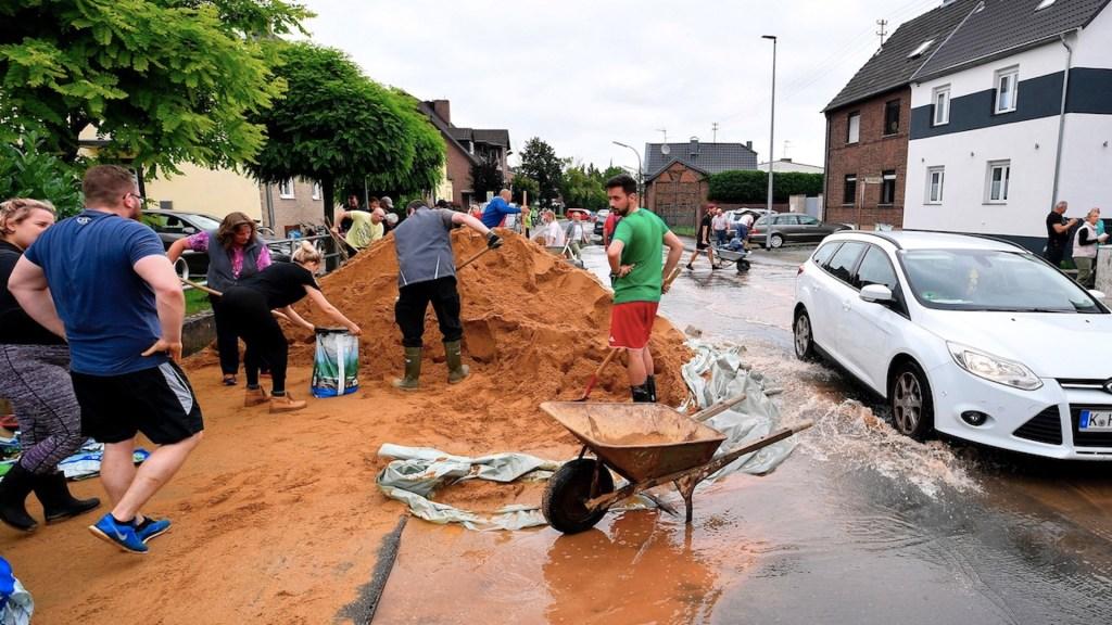 Aumenta a 143 el número de muertos por inundaciones en Alemania - Aumenta a 135 el número de muertos por inundaciones en Alemania. Foto de EFE