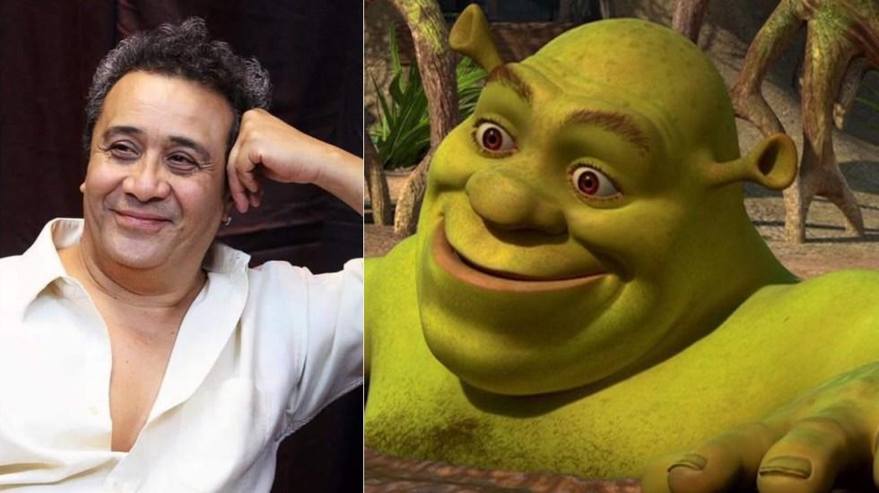 Hospitalizan al actor Alfonso Obregón Inclán, voz de Shrek - Alfonso Obregon Inclan shrek