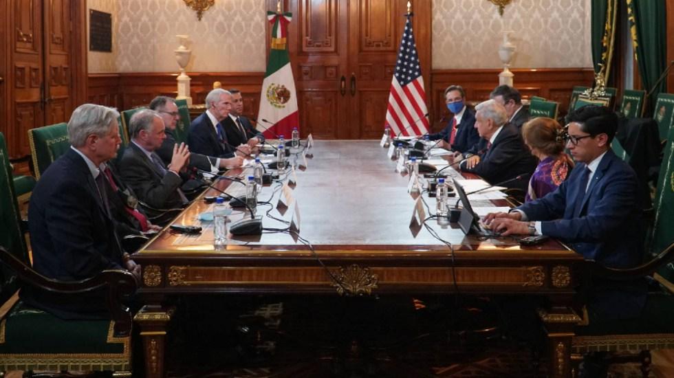 """AMLO sostuvo una reunión """"cordial y amistosa"""" con senadores de EE.UU. - AMLO López Obrador senadores de EEUU"""