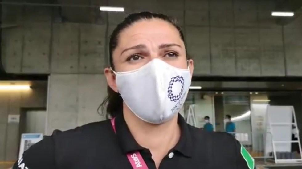 """""""No competí yo"""", la respuesta de Ana Guevara a escasas medallas en Tokio 2020 - Ana Guevara. Captura de pantalla / Milenio"""