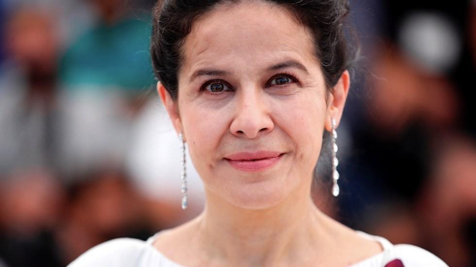 #Video Arcelia Ramírez recibe ovación en el Festival de Cannes - #Video Arcelia Ramírez recibe ovación de pie en Cannes. Foto de EFE