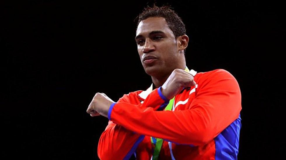 Arlén López, el campeón olímpico al que se enfrentará Rogelio Romero en Tokio - Arlén López tras ganar el oro en Juegos Olímpicos de Río. Foto de @juegosolimpicos