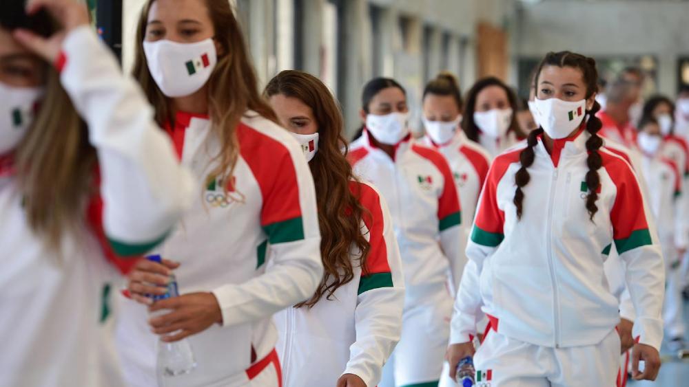 AMLO desea éxito a atletas mexicanos en Tokio 2020 - Atletas mexicanos Tokio 2020