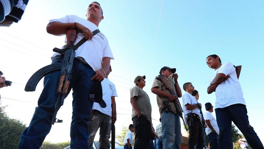 Autodefensas se expanden a Pátzcuaro, Michoacán - Autodefensas se expanden a Pátzcuaro, Michoacán. Foto de EFE