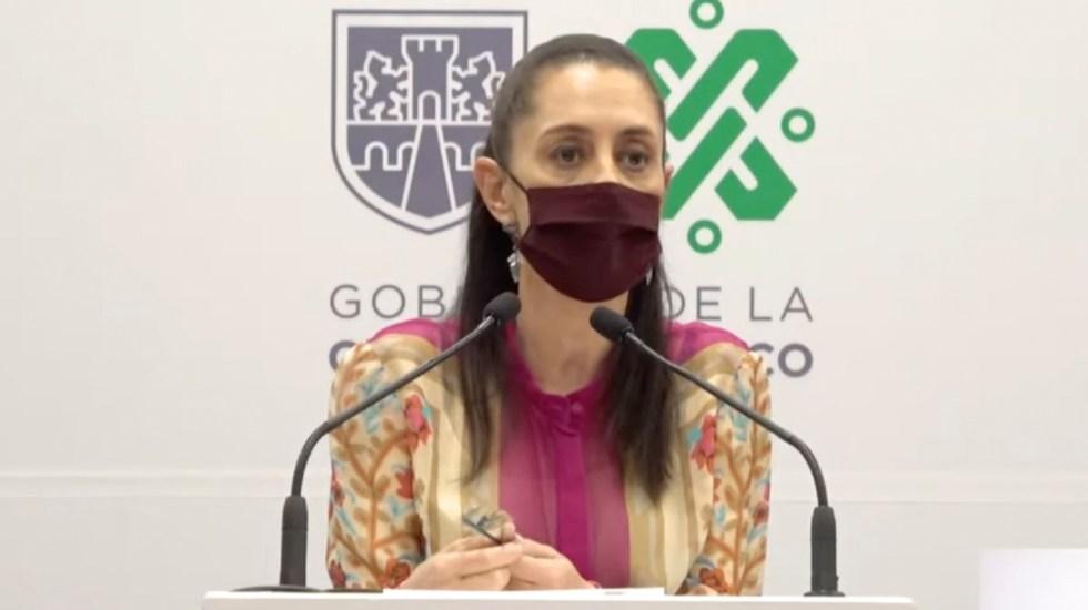 Estamos concentrados en la CDMX: Sheinbaum tras vitoreos en Morena - La jefa de Gobierno, Claudia Sheinbaum. Captura de Pantalla.