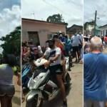 Cientos en Cuba protestan contra el Gobierno