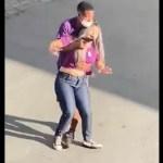 #Video Aplauden a policías que abatieron a delincuente en Brasil