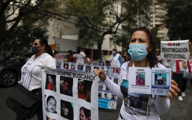 Familiares de desaparecidos marchan en Ciudad de México para exigir su búsqueda - Desaparecidos Caribe Mexicano Quintana Roo