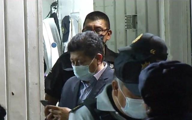Diputado por Morena cae en 'El Torito' por no pasar alcoholímetro; acusa 'trampa' - Diputado federal por Morena, Rubén Cayetano, en 'El Torito'. Captura de pantalla / Noticieros Televisa