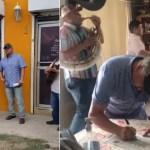 """Hombre """"celebra"""" su divorcio con música de banda en Coahuila"""
