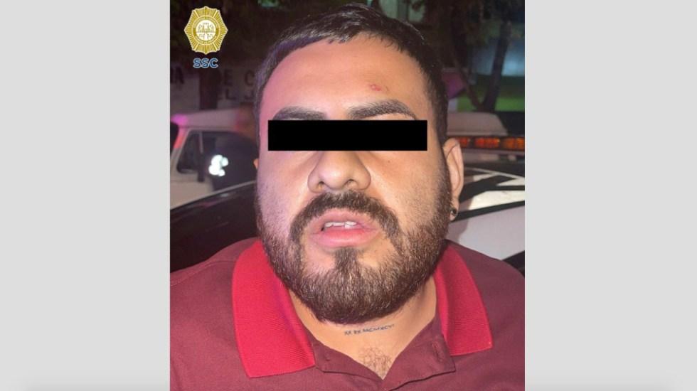 Capturan a 'El Barbas', presunto extorsionador de La Unión Tepito - El Barbas La Unión Tepito extorsionador