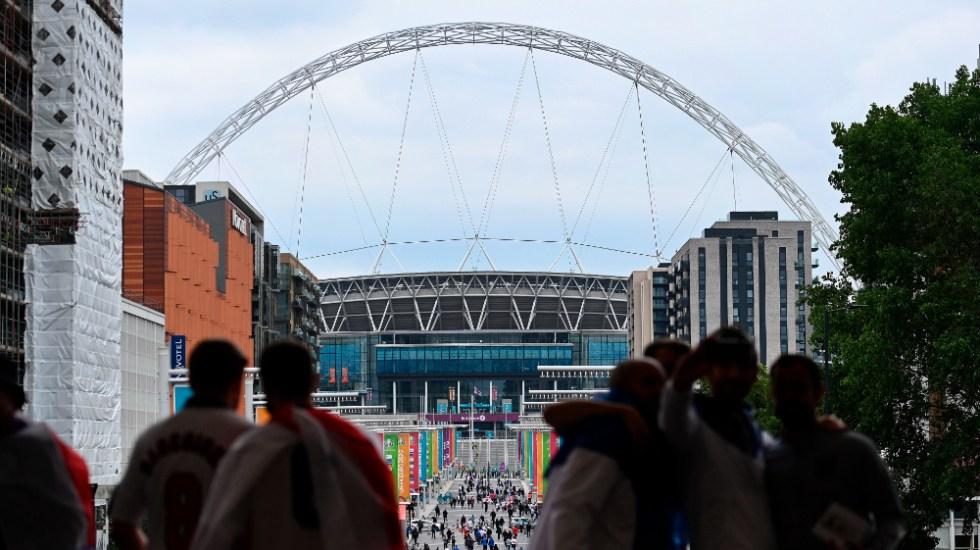 Así se jugarán las Semifinales en la Euro 2020 - Estadio Wembley Euro 2020