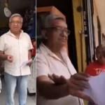 Resurge video de Fernández Noroña donde discute a gritos con hombre de la tercera edad
