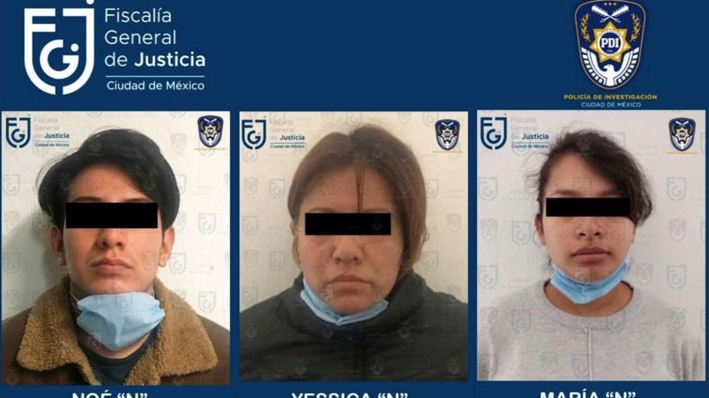 Detienen a madre y padrastro de menor localizada muerta en Cuautepec - Detienen a madre y padrastro de menor localizada muerta en Cuautepec. Foto de Fiscalía CDMX