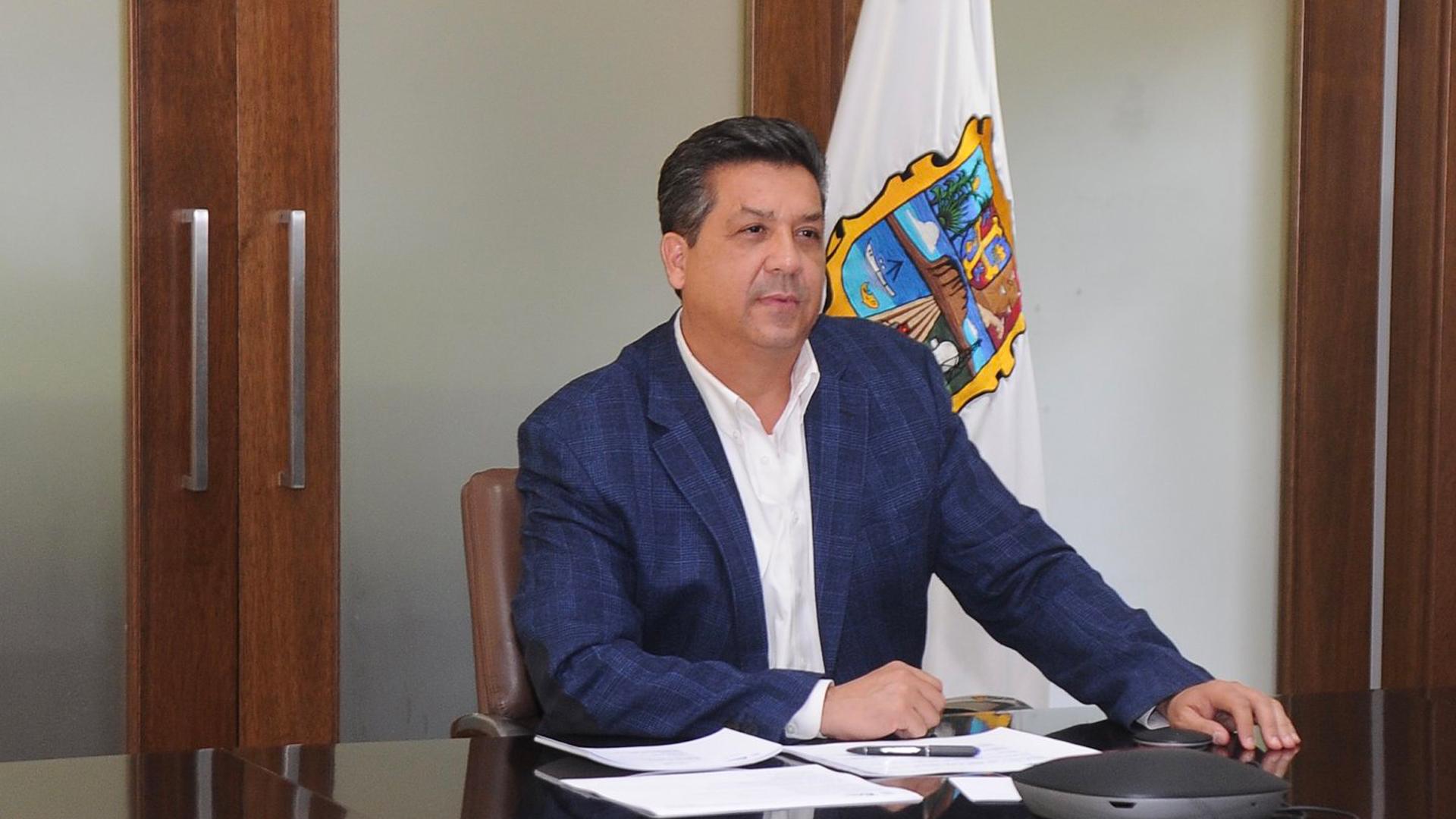 SCJN rechaza suspender blindaje a García Cabeza de Vaca. Foto de Twitter @fgcabezadevaca