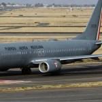 Aterriza avión de la Fuerza Aérea Mexicana en La Habana, Cuba
