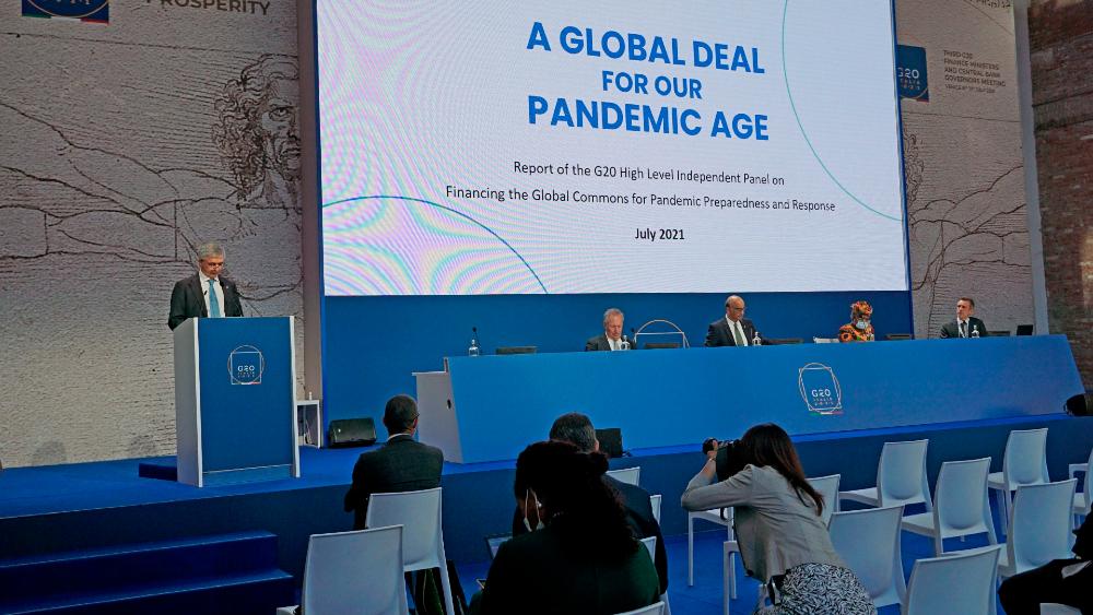 G20 apoya sistema fiscal para multinacionales consensuado en la OCDE - G20 reunión ministros finanzas