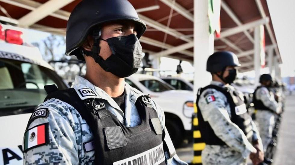 """La Guardia Nacional eleva riesgos de """"profundizar militarización"""" en México - Guardia Nacional. Foto de @GUARDIA.NACIONAL.MX"""