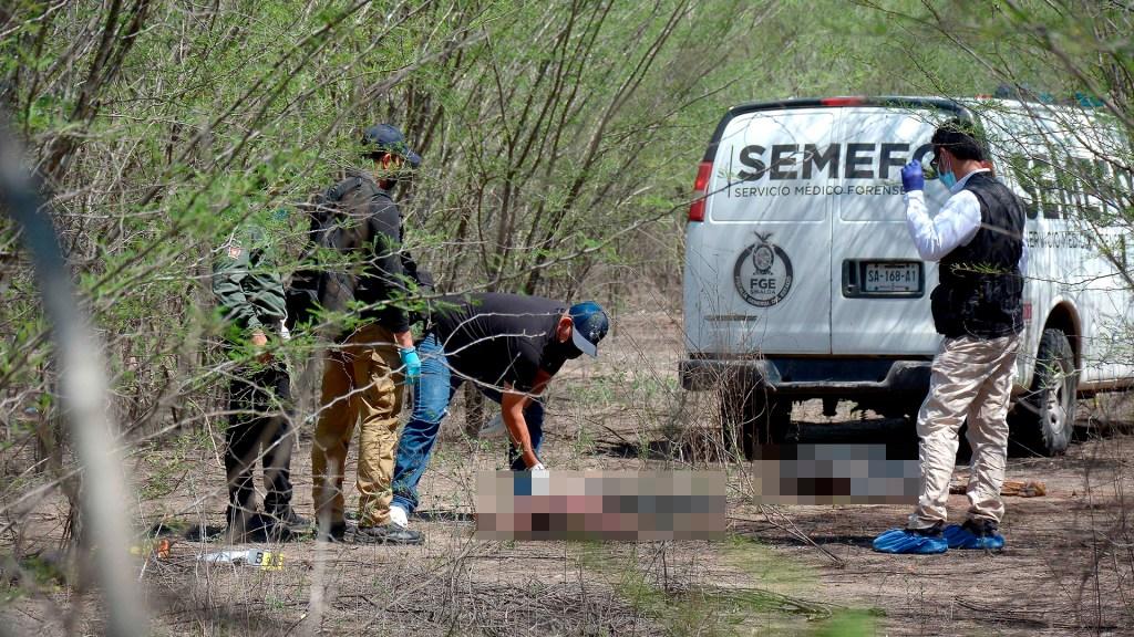 Colectivo de búsqueda de desaparecidos halla en Sinaloa los cuerpos de dos hombres - Hallazgo en Culiacán, Sinaloa, de los cuerpos de dos hombres