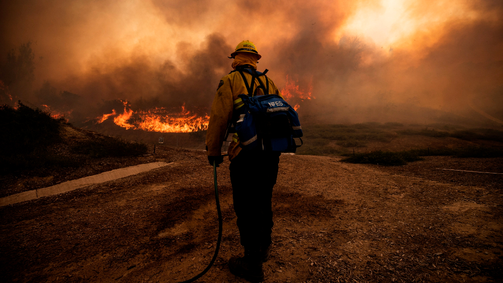 Temporada de incendios se adelanta varios meses en el oeste de EEUU - incendios costa oeste EEUU desastres