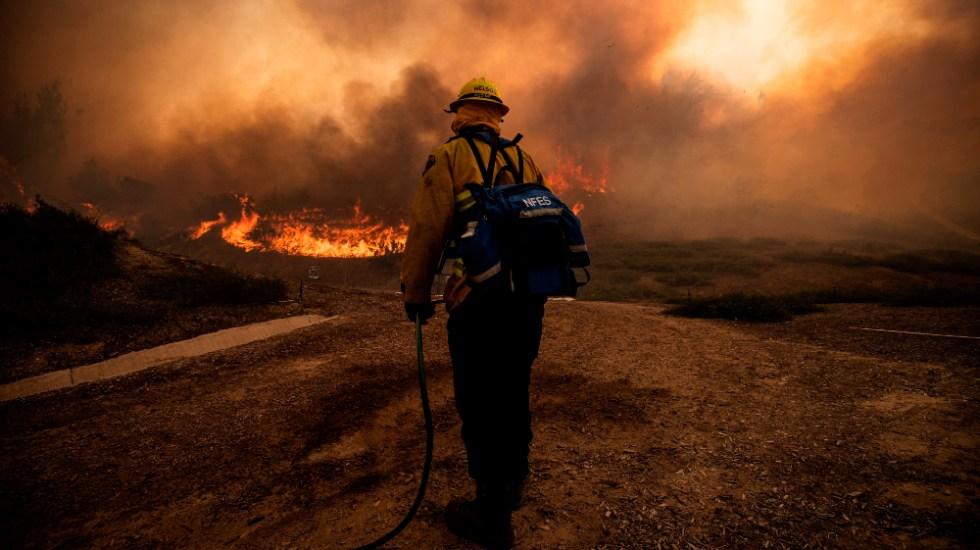 Temporada de incendios se adelanta varios meses en el oeste de EEUU - incendios costa oeste EEUU