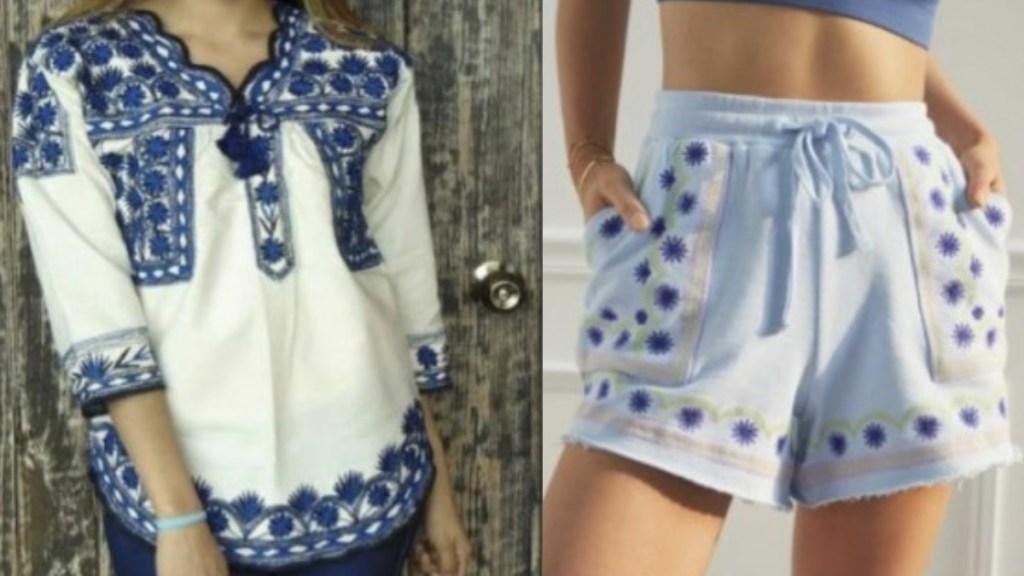 Denuncian plagio de diseños textiles de Mixe, Oaxaca, por marca de EE.UU. - INPI oaxaca textiles 2