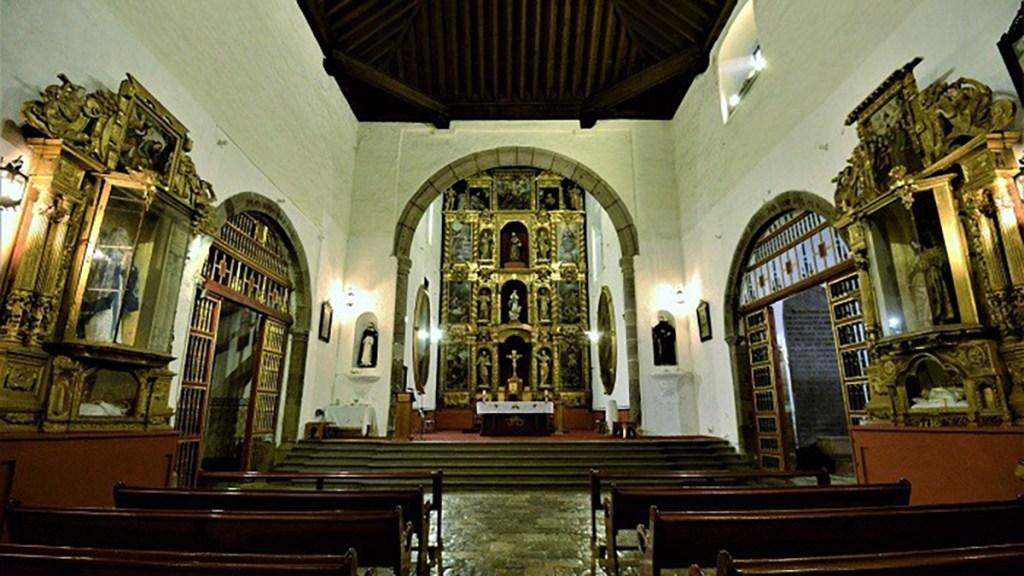 Unesco reconoce a la catedral de Tlaxcala como patrimonio mundial - Interior de la catedral de Nuestra Señora de la Asunción de Tlaxcala. Foto de @alefrausto