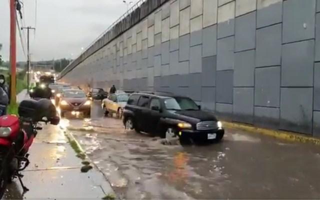 #Video Lluvias ocasionan inundaciones en varios puntos de Jalisco - Inundaciones en Jalisco. Captura de pantalla / @Trafico_ZMG