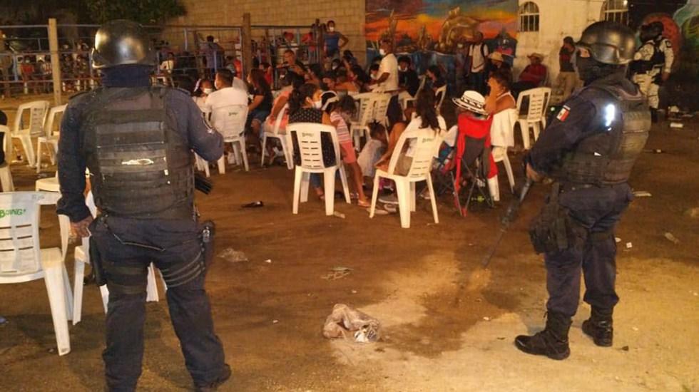 #Video Desalojan a más de 500 personas de jaripeo en Puerto Marqués, Guerrero - Jaripeo en Puerto Marqués, Acapulco. Foto de @AstudilloFloresHector