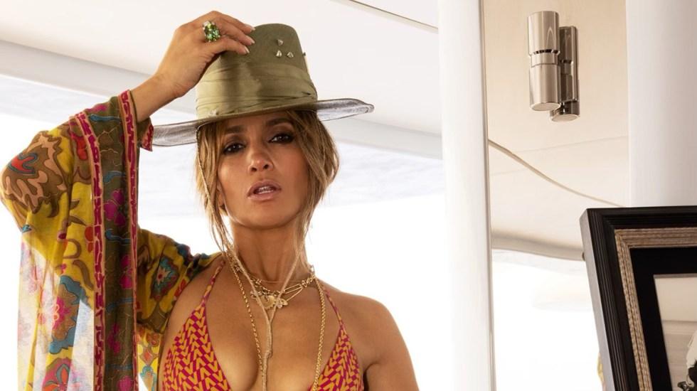 La foto con la que Jennifer Lopez confirmó su relación con Ben Affleck - Jennifer Lopez. Foto de @JLo