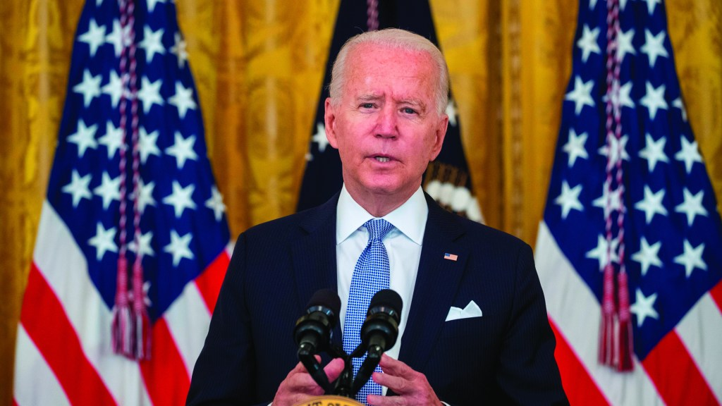Biden ordena uso de cubrebocas obligatorio en edificios federales de EE.UU.. Foto de EFE