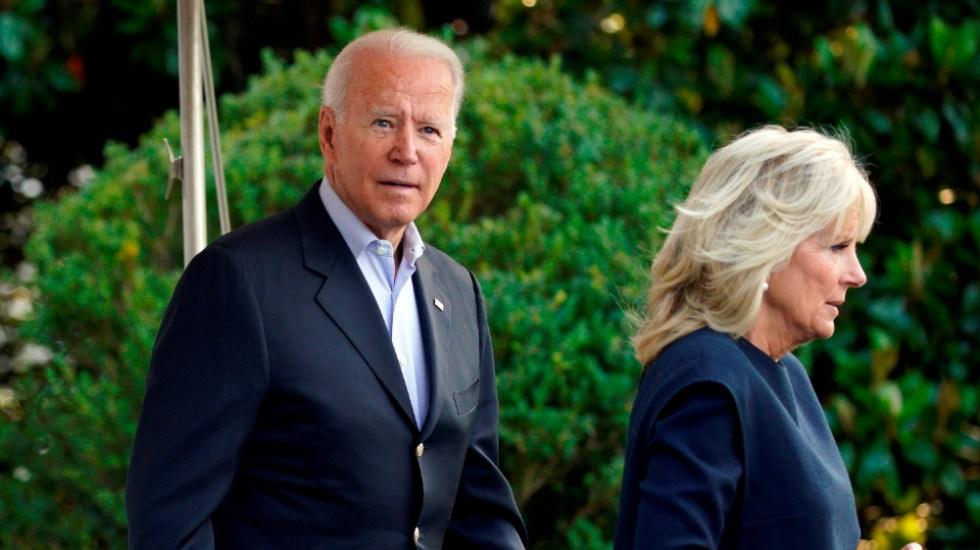 Biden llega a Miami para reunirse con afectados por derrumbe - Joe Jill Biden