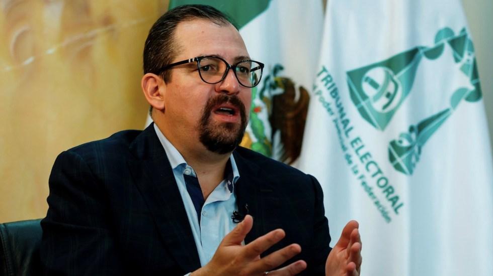 Presidente del TEPJF rechaza acusaciones de corrupción - Presidente de TEPJF rechaza acusaciones de corrupción. Foto de EFE