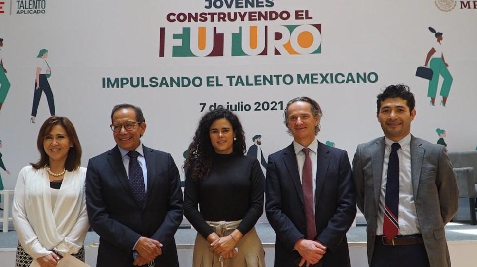 México sumará a 400 mil becarios a Jóvenes construyendo el futuro - .México sumará a 400 mil becarios a Jóvenes construyendo el futuro. Foto de Twitter Luisa María Alcalde