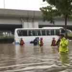 Al menos 12 muertos por las lluvias torrenciales en el centro de China