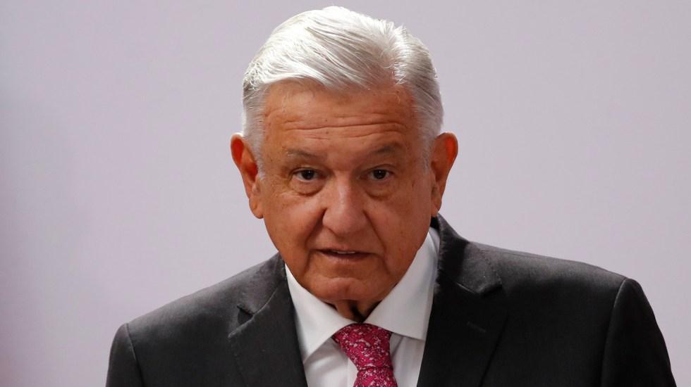 """Denuncia AMLO 'bloque conservador' contra su Gobierno; son """"adversarios a vencer"""", dice - López Obrador durante Informe de Gobierno por 3er aniversario de su elección. Foto de EFE"""