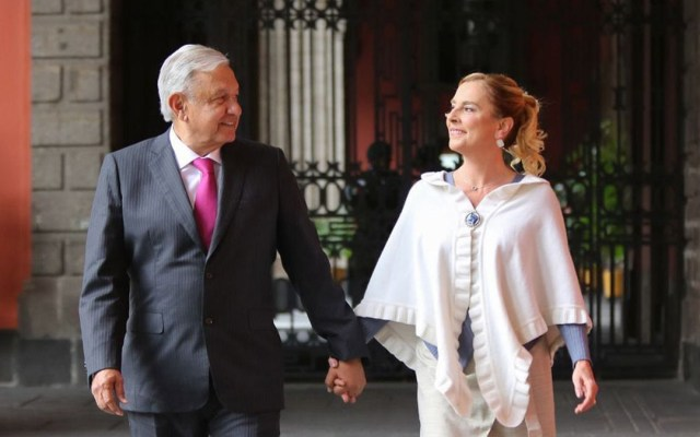 Estoy orgulloso de Beatriz: López Obrador - López Obrador Beatriz Gutiérrez Müller