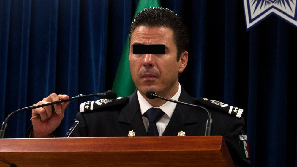 Inicia audiencia contra Luis Cárdenas Palomino, exmando policiaco federal - Luis Cárdenas Palomino