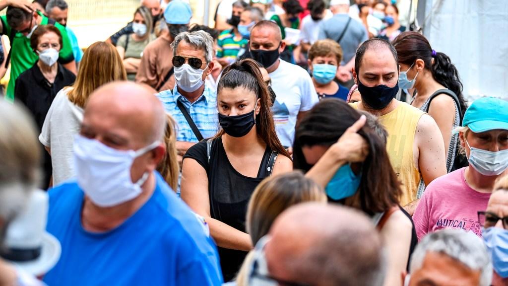 """""""Pandemia acabará cuando el mundo elija acabarla"""": OMS - Macedonia del Norte durante pandemia de COVID-19. Foto de EFE"""