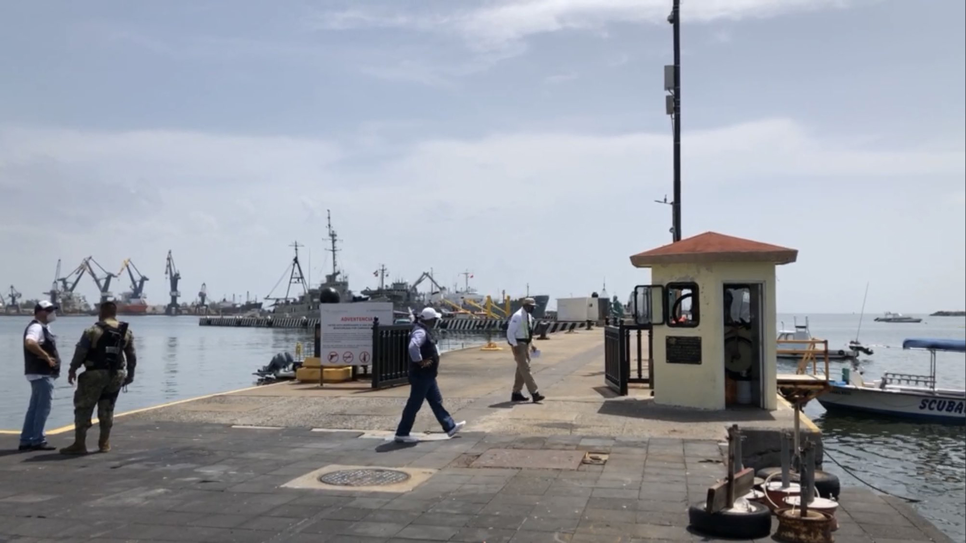 Parte desde Veracruz ayuda humanitaria de México hacia Cuba