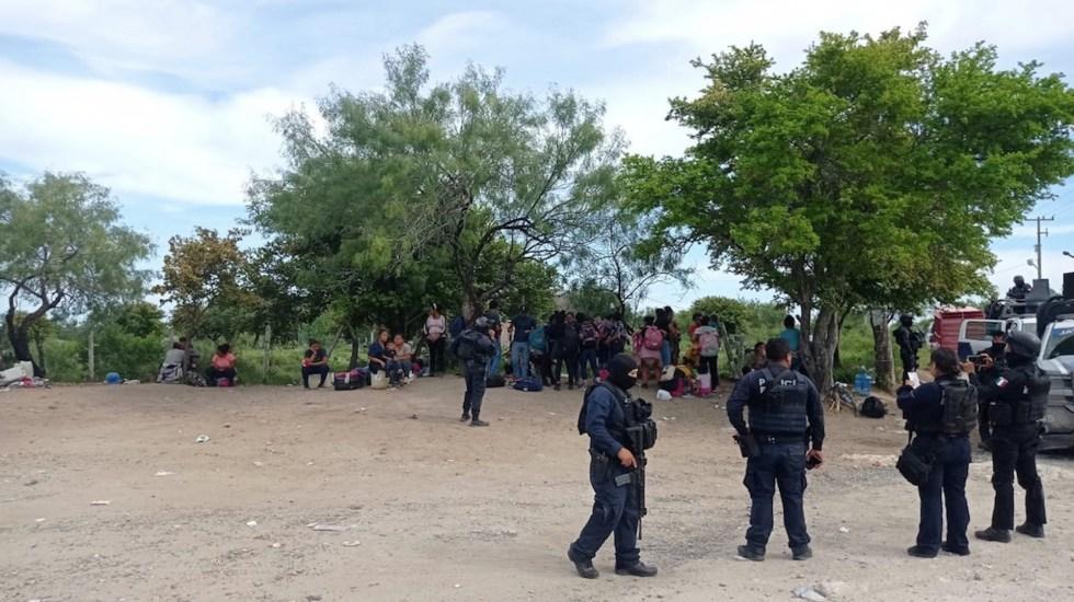 Rescatan a 110 migrantes, entre ellos 56 menores, en Tamaulipas - Foto de Secretaría de Seguridad Pública Tamaulipas